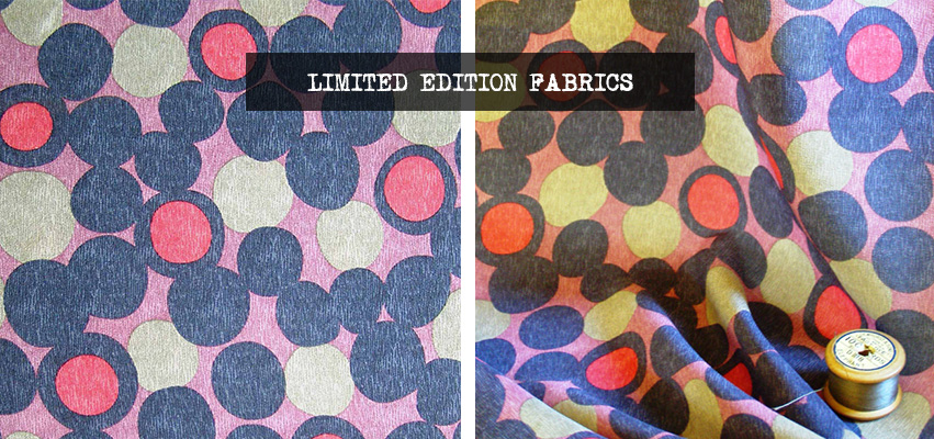 Vintage fabric bubbles